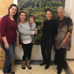 Zelia, Arcelia, Chloe Doutre-Roussel e Maria Fernanda di Giacobbe