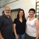 Zelia Frangioni, Dra. Carla Martin e Anthony Rue