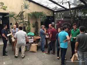 feira de cacau no Bean to Bar Chocolate Week 2018