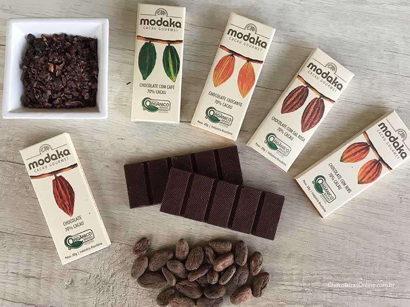 Modaka Cacau: Nibs e Chocolates