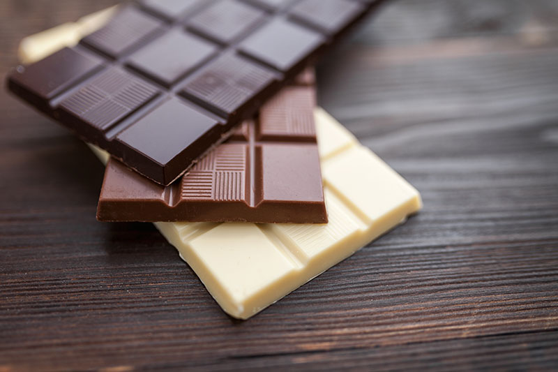 Istockphoto barras de chocolate