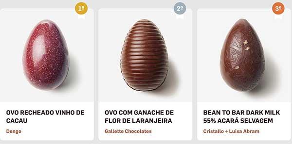Páscoa 2019 - Paladar - chocolates de cacau brasileiro