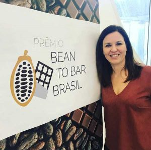 Zelia no Premio Bean to Bar Brasil 2019