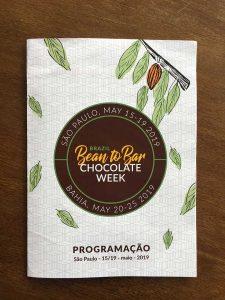 Bean to Bar Chocolate Week SP 2019 programa