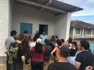 visita na fazenda Leolinda