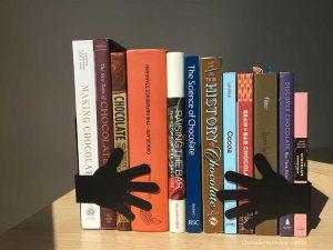livros sobre chocolates