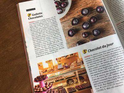 Veja SP 2019 melhores chocolates Gallette e chocolat du jour