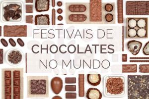 festivais de chocolates