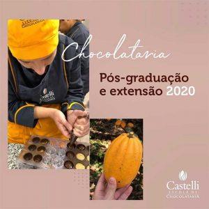 Curso de Chocolataria pós graduação - Castelli 2020