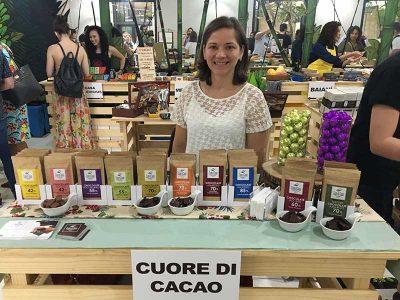 Carolina Schneider da Cuore di Cacao na Bean to Bar Chocolate Week 2018