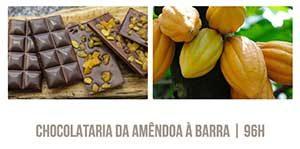 chocolataria da amêndoa à barra Castelli