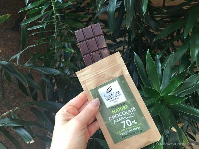 barra de chocolate bean to bar da Cuore di Cacao