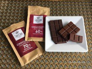barras de chocolate bean to bar da Cuore di Cacao