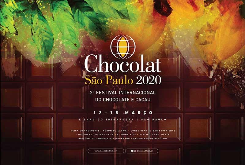 Chocolat Festival março de 2020 em SP