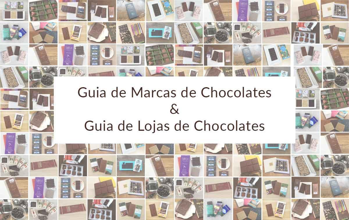 guia de marcas de chocolates