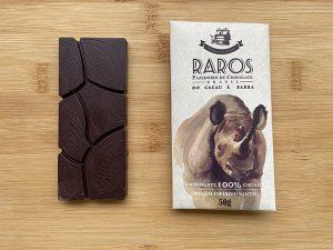 Chocolate 100% cacau: Raros