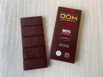 Dom Chocolates -  80 % cacau