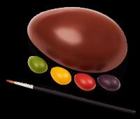 Dengo ovo para colorir