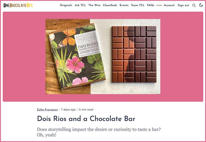 The Chocolate Life - Março 2021
