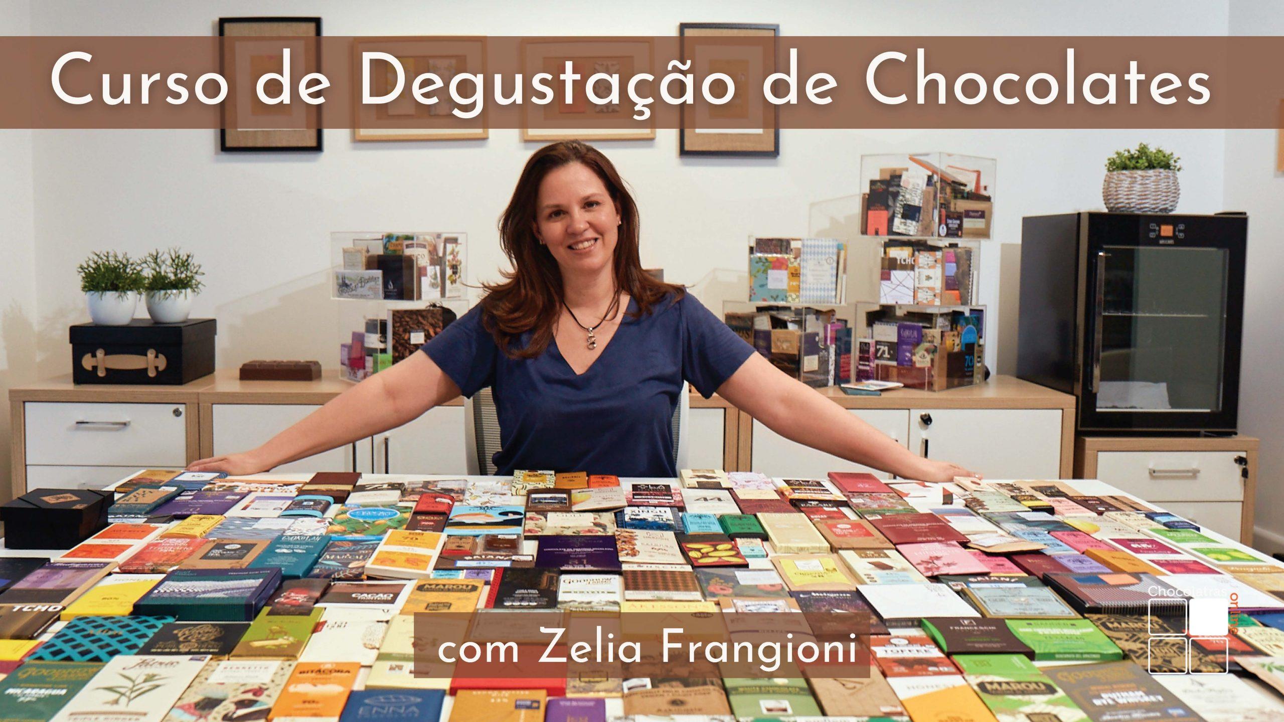 Curso de degustação de chocolates