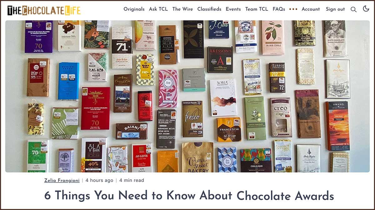 Post no The Chocolate Life